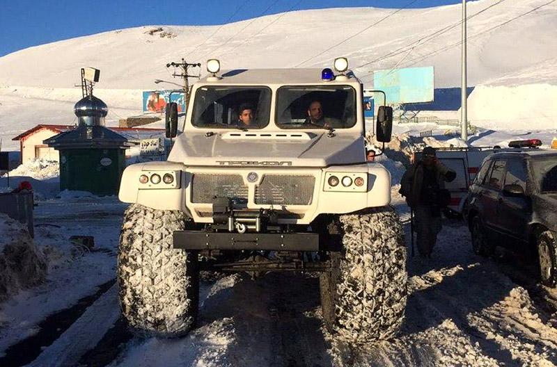 خودرویی جدید برای امداد و نجات در کشور 2