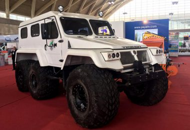 خودرویی جدید برای امداد و نجات در کشور