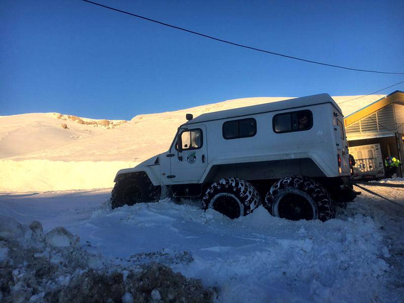 خودرویی جدید برای امداد و نجات در کشور 3