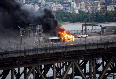 بررسی در مورد آتش سوزی اتوبوس سیدنی